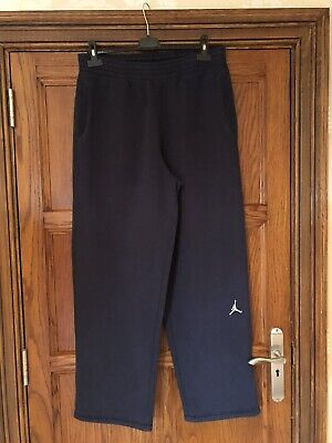 Mens Nike Jordan Navy Tracksuit Bottoms (436426-451) Size Large