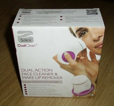 Silk'n Dual Action Face Cleaner & Make Up Remover