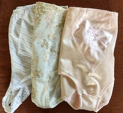 Genuine Vintage Ladies St Michael Knickers M&S Panties Tummy Control French +