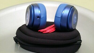 Apple Beats by Dr. Dre Solo2 Wired On-Ear Luxe Edition Headphones Sapphire Blue