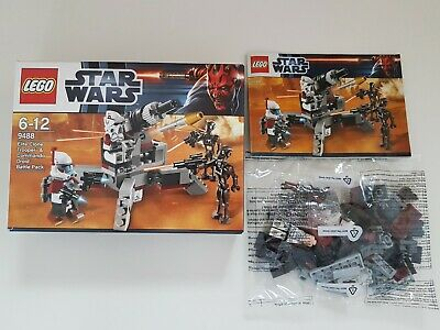 LEGO 9488 Star Wars Elite Clone Trooper & Commando Droid Battle Pack Neu-wertig
