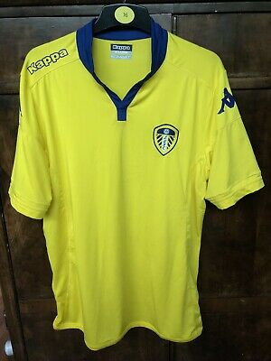 Leeds United Away Shirt Shirt Kappa XL