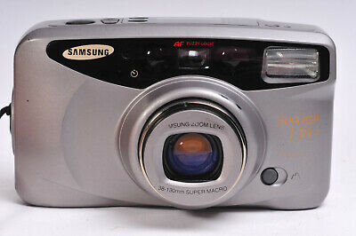 Samsung Slim Zoom 130s Full Function 35mm Compact - Lomo double exposure mode