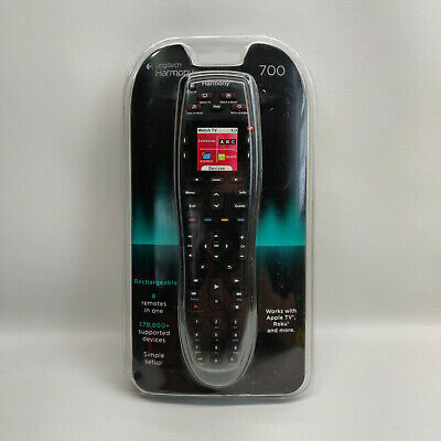 New Damaged Packaging Logitech Harmony 700 8-Device Universal Remote Control