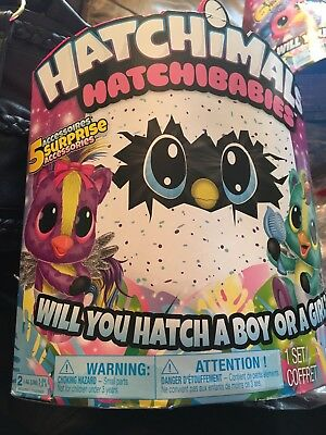 GREAT EASTER GIFT! HATCHIMAL Hatchibabies ; Ponette or Cheetree hatching EGG!