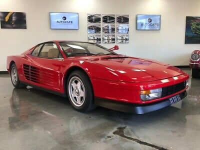 1986 Ferrari Testarossa -- Two Owner 1986 Ferrari Testarossa in Corsa Red with 35,000 Miles available now!