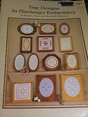 Hardanger Booklet Tray Designs In Hardanger Embroidery 1990