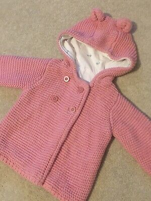 Baby Girls Super Cute Autumn/Winter Thick Lined Coat* 0-3 Months - From M&S