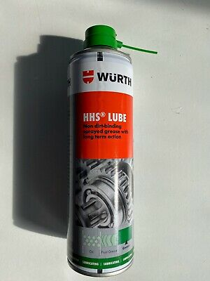 **Wurth HHS Lube 500ml long-life spray grease high protective factor**