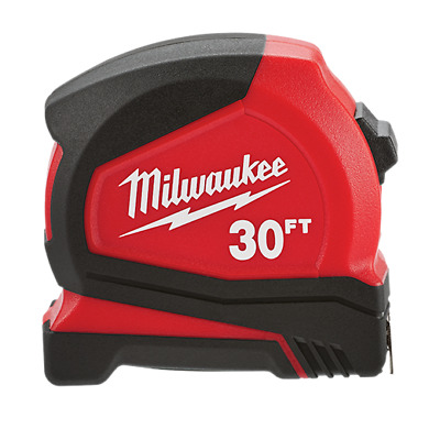 Milwaukee 30ft Compact Tape Measure 48-22-6630