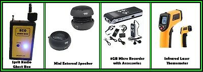 Ghost Hunting Equipment - Ghost Hunting Kit # 8 - Worldwide Shipping
