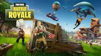 FORTNITE BATTLE ROYALE  ORIGINAL VIDEO GAME POSTER 36 x 24 in