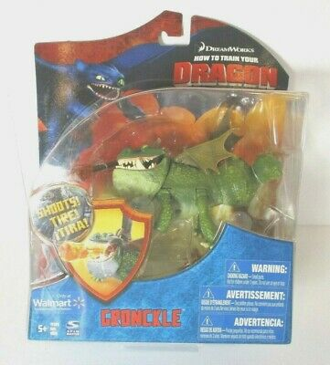 DREAMWORKS HOW TO TRAIN YOUR DRAGON Figure Walmart Exclusive Green Gronckle-NEW