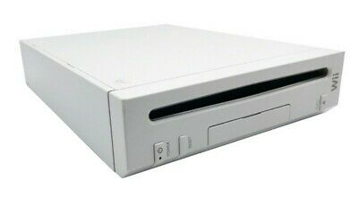Nintendo Wii (Replacement) System Console Only White Gamecube Compatible