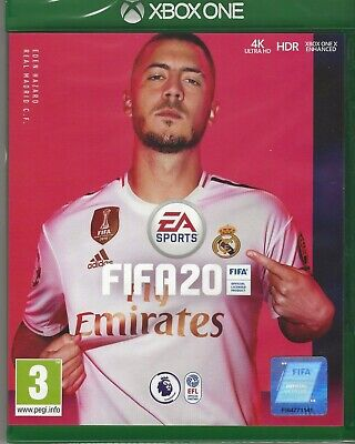 Xbox One - Fifa 20 - BRAND NEW SEALED - 1 DAY ONLY