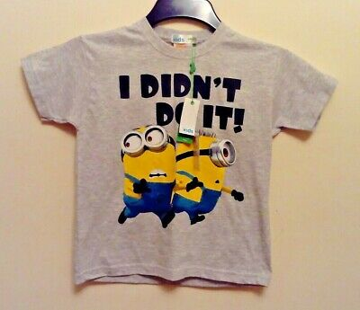 Despicable Me T-Shirt age 5-6 Brand New with Tags