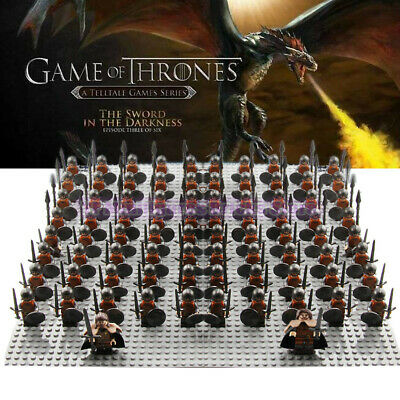 21Pcs/Lot Game of Thrones Kingsguard Army Minifigures Medieval Lego Compatible