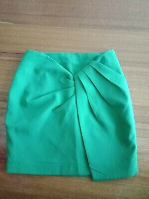 Cameo Size Extra Small Ladies Green Skirt Worn Twice Brighter green than in pics
