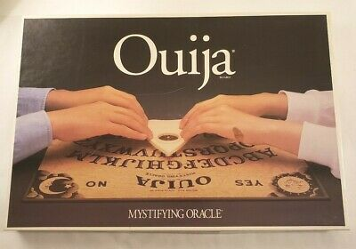 Vintage 1992 Parker Brothers Ouija Board Mystifying Oracle No 00600 Game Set