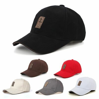 Cool Unisex Sport Women/Men Golf Hip-hop Cap Baseball Hat Outdoor Adjustable
