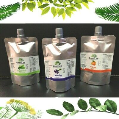 ✅ 100% Pure Natural Essential Oils Aromatherapy Refill Pack 50ml 100ml ✅  10 ml