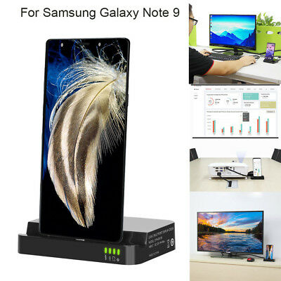 HDMI Dex Station Desktop Extension Charging Stand For Samsung Galaxy Note 9