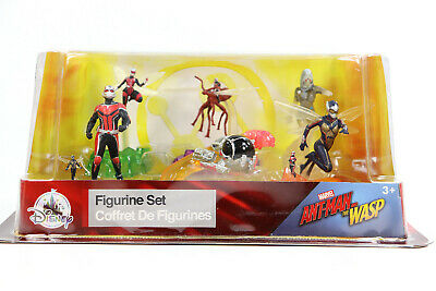 Marvel Ant-Man and the Wasp Figurine Set Disney Store Exclusive USED Open Box