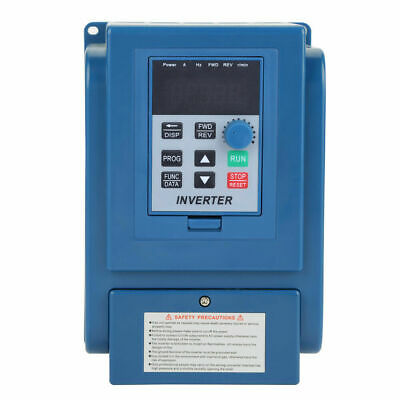 4KW 380V Variable Frequency Drive Inverter 5HP 3PH  VFD VSD Single To 3 Phase