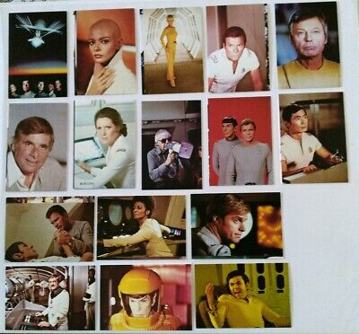 Rare Star Trek Roddenberry Promotional Card Set #2116, Star Trek: Motion Picture