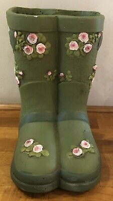 Latex Mould for making this Lovely Wellington Boots Planter