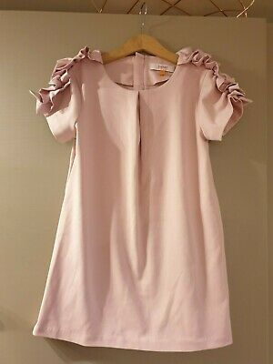 Ted Baker Designer Girl's Pink Party Occasion Dress Size 7 - 8 Years