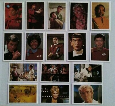 Rare Star Trek Roddenberry Promotional Card Set #2111, STII: The Wrath of Khan.