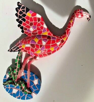 Latex Mould for making beautiful Flamingo wall plaque