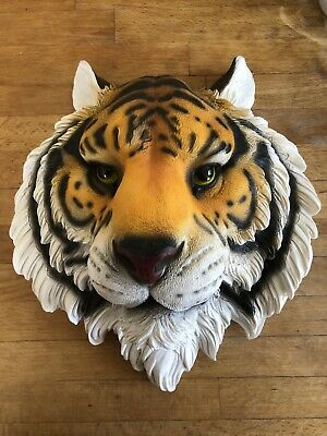 Latex Mould for making stunning Tigers Head Plaque