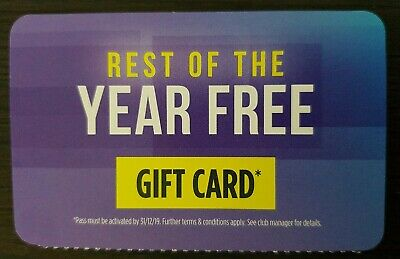 """Anytime Fitness Gift Card """"New"""" Only At Eight Mile Plains Anytime Fitness"""