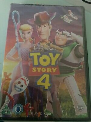 Toy story 4 dvd 2019 new & sealed