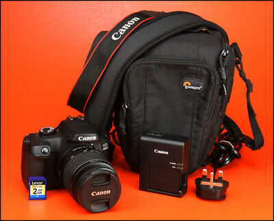 Canon EOS 4000D DSLR Camera + 18-55mm Zoom Lens kit + Battery & Charger & 2GB SD