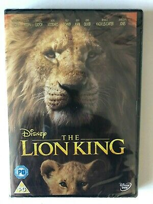 The Lion King [DVD]   NEW AND SEALED FREE POST