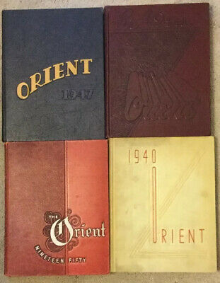 Ball State Vintage Yearbooks 1947-1950 Orient