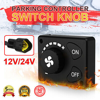 Parking Heater Controller Knob Switch For Air Diesel Heater Time Set 12V/24V