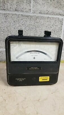 Vintage Direct Current Millivoltmeter Model N