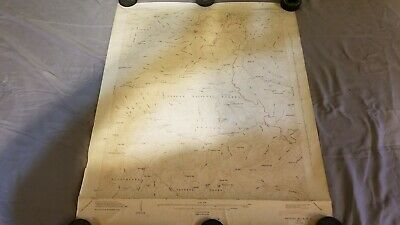 Vintage 1946 USGS Shining Rock / Pisgah National Forest, NC Topographic Map