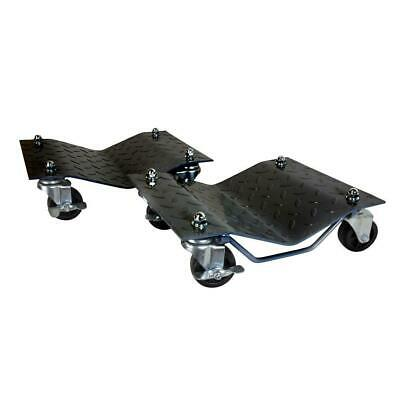 Vehicle Dollies 1500 Lbs Capacity Diamond Plated Surface Reduces Risk Slipping