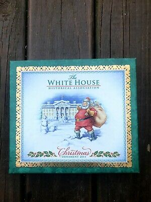 The White House Historical Association 2011 Christmas Ornament 50th Anniversary