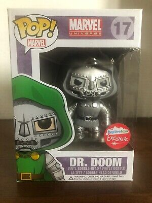 Dr Doom Fugitive Toys Exclusive Funko Pop. Marvel Universe