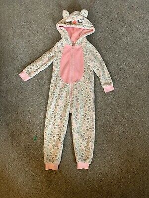 Girls John Lewis Leopard One Piece All In One Age 3