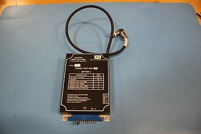 Bertan High Voltage Power Supply 0-5KV PMT-50A/N OPT1 Applied Materials AMAT
