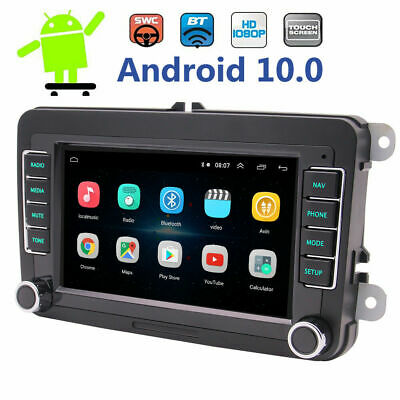 Backup Camera&GPS Double 2Din Car Stereo Radio CD DVD Player Bluetooth with Map*