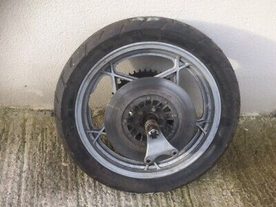 "Suzuki Gs1000 / Gs750 / Gs550  17"" Rear Wheel Complete"