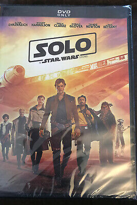 Star Wars: Solo DVD - - Brand new -- Sealed Box - Free Shipping